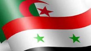 وفد من النظام السوري يزور الجزائر