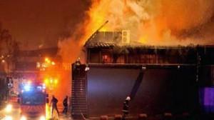 حريق بروسيا