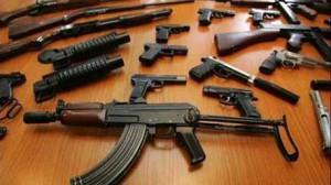مصادرة أسلحة بالجزائر