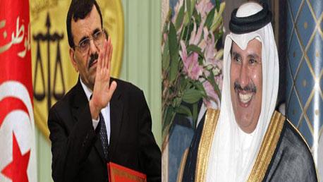 حمد بن جاسم وعلي العريض