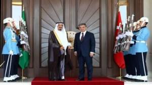 ولي العهد السعودي  في تركيا