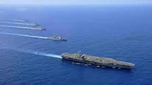 مناورات بحرية في الخليج