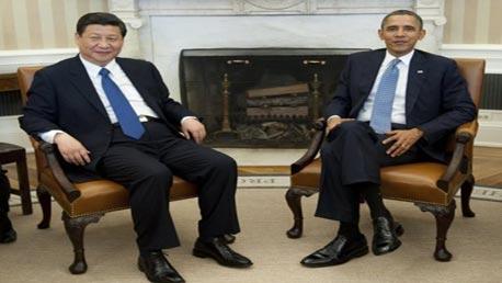 الرئيس الامريكي والرئيس الصيني