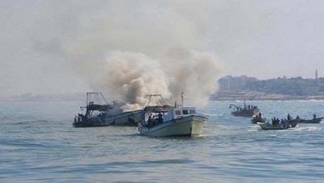 صيادين فلسطينيين
