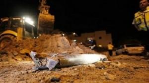 """الكيان الصهيوني : سقوط صاروخ """"غراد"""" في مدينة """"إيلات"""""""