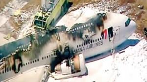 تحطم طائرة كورية أثناء هبوطها