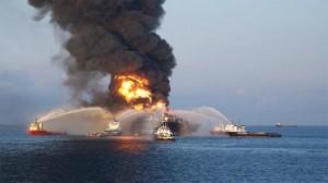 انفجار منصة للغاز بخليج المكسيك