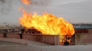 تفجير خط الغاز الموصل إلى الأردن