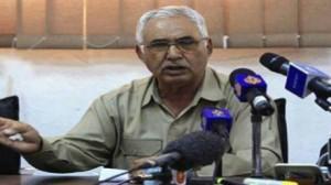 """رئيس الأركان العامة للجيش الليبي السابق اللواء """"سالم اقنيدي"""