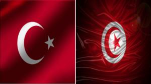علم تونس وتركيا
