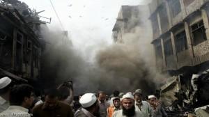 إنفجار في باكستان