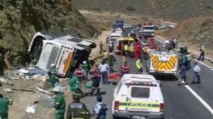 روسيا: مقتل 9 أشخاص و إصابة أكثر من 20 آخرين في حادث اصطدام حافلتين