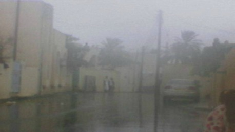 سحب عابرة بالجنوب وأمطار غزيرة ومؤقتا رعدية بالشمال والوسط