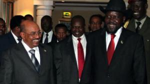 """""""البشير"""" و """" سلفاكير """" يتّفقان على تفعيل اللجنة المشتركة بين السودان وجنوبه لمراقبة تصدير النفط"""