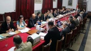 اللجنة العليا للمشاريع الكبرى تنظر في عدد من مطالب الاستثمار الكبرى