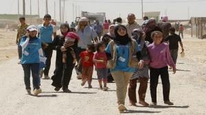 وصول 2119 لاجئا سوريا إلى الأردن يوم أمس الخميس