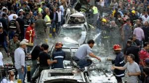 """كتائب """"عبد الله عزام"""" تتبنى التفجيرين أمام سفارة إيران في بيروت"""