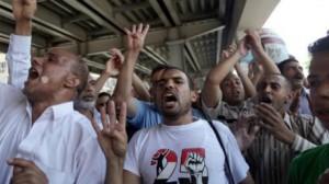 حبس 24 متظاهرا على ذمة التحقيق ولجنة الـ 50 تعلق أعمالها حتى الإفراج عنهم