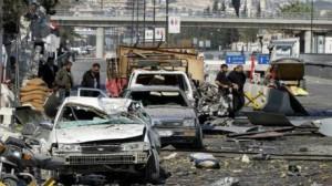 قتيل و9 جرحى في سقوط قذائف على السفارة الروسية في سوريا