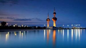 kuwait_towers-sunset