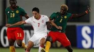 مباراة تونس الكامرون
