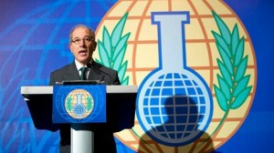 منح جائزة نوبل للسلام لمنظمة حظر الأسلحة الكيميائية