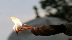 الإنتحار حرقا