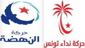 حركة النهضة وحركة نداء تونس