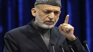 """الرئيس الأفغاني  """"حامد كرزاي"""""""