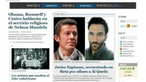 """اختطاف صحافيين إسبانيين في سوريا على يد عناصر من """"داعش"""""""
