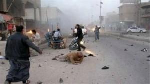العنف في العراق: 10 قتلى و40 جريحا في هجوم انتحاري ببغداد