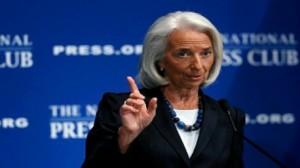 """رئيسة صندوق النقد الدولي """"كريستين لاغارد"""