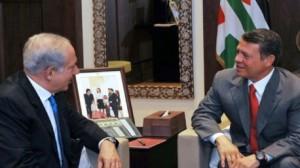 ملك الأردن يلتقي رئيس الوزراء الصهيوني