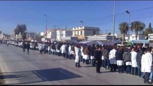 مسيرة للأطباء