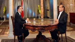 """رئيس الجمهورية """"محمد المنصف المرزوقي"""" في حوار تلفزي"""