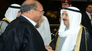 صباح الأحمد الجابر الصباح ومحمد المنصف الملاروةقي