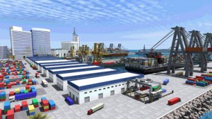 ميناء تجاري
