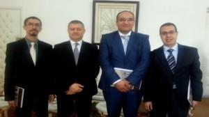 وزير الشؤون الدينية يستقبل وفدا مغربيا مختصا في مجال عمارة المساجد
