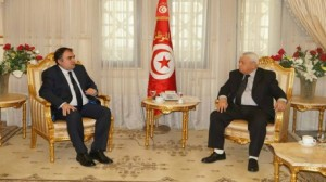وزير العدل وسفير رومانيا بتونس