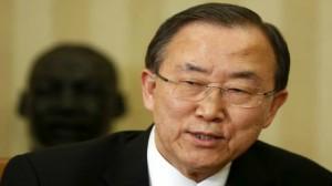 """الأمين العام للأمم المتحدة """" بان كي مون"""""""