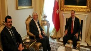 أردوغان يلتقي الغنوشي في أنقرة