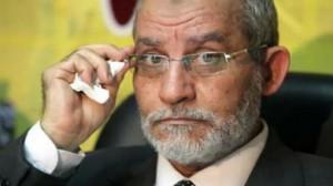 محمد بديع المرشد العام لجماعة الاخوان المسلمين