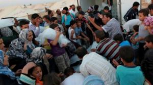 اللاجئين السوريين المسجلين في لبنان