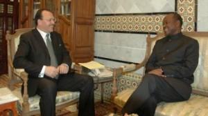كاتب الدولة للخارجية يلتقي نائب رئيس مفوضية الإتحاد الإفريقي