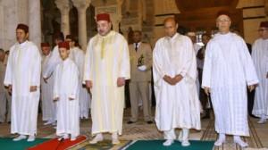 ملك المغرب والمرزوقي