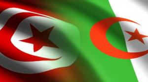 علم تونس والجزائر