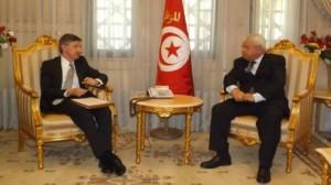 وزير العدل يلتقي سفير أمريكا بتونس