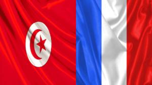 علم تونس وفرنسا