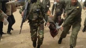 إصابة جندي بطلق ناري
