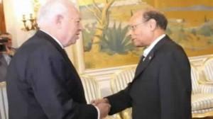 المرزوقي ووزير خارجية اسبانيا